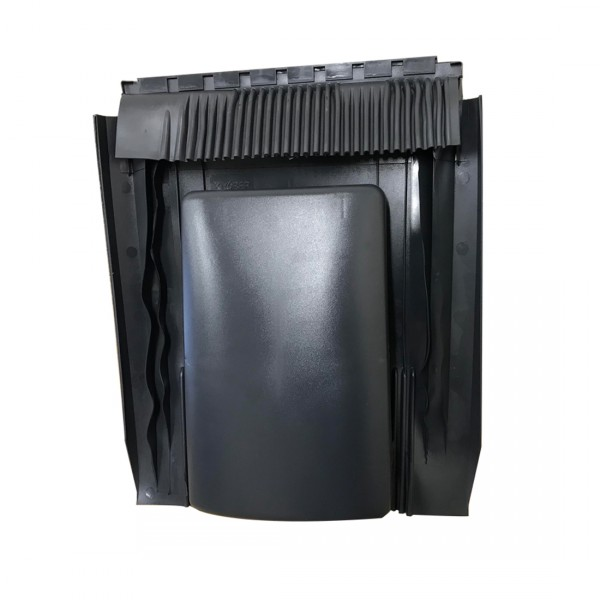 Universal 20k Tile Roof Vent Grey Black