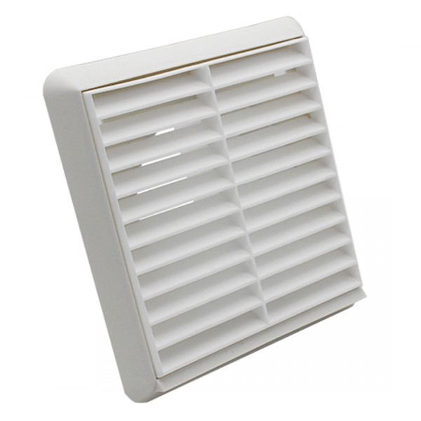 Louvred-White-Rectangular-Spigot-BPC-Ventilation