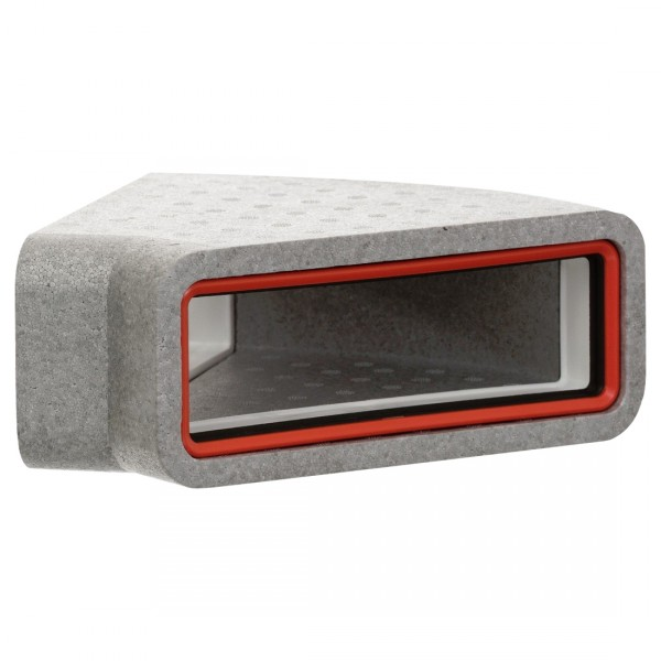 verplas-thermal-ducting-rectangular-h-45-bend-bpc-ventilation