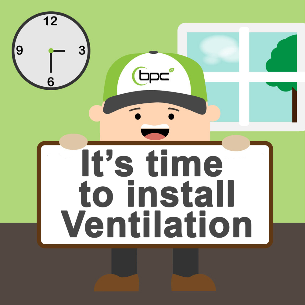 Installation of a Mechanical Ventilation System