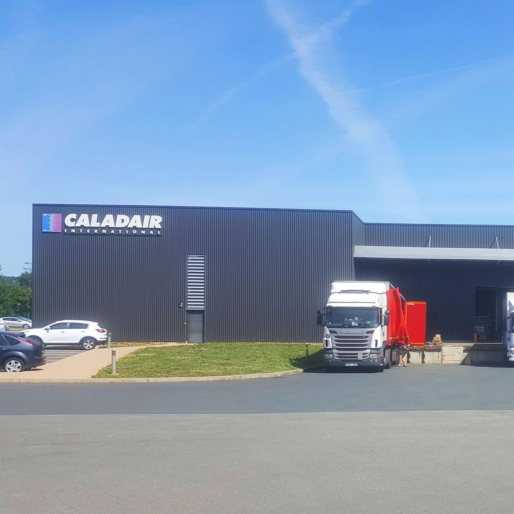 caladair factory front