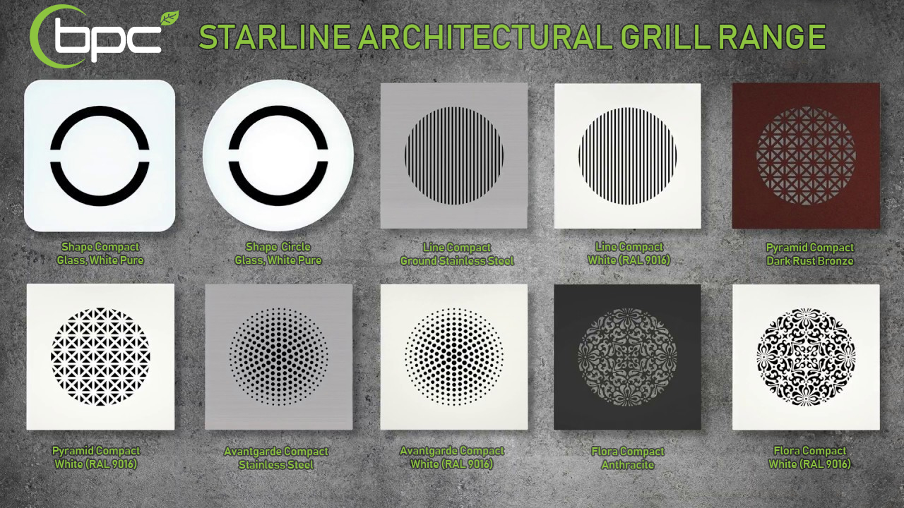 starline grill range