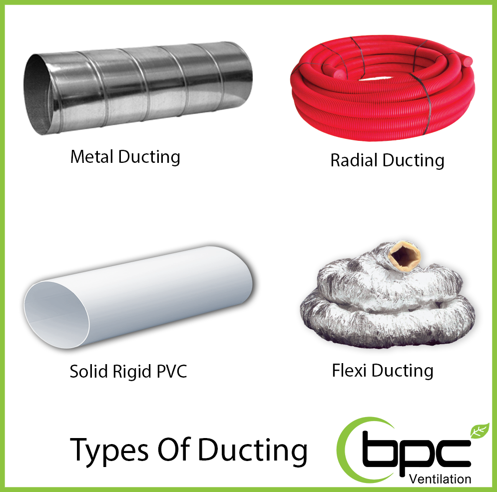 types of ducting