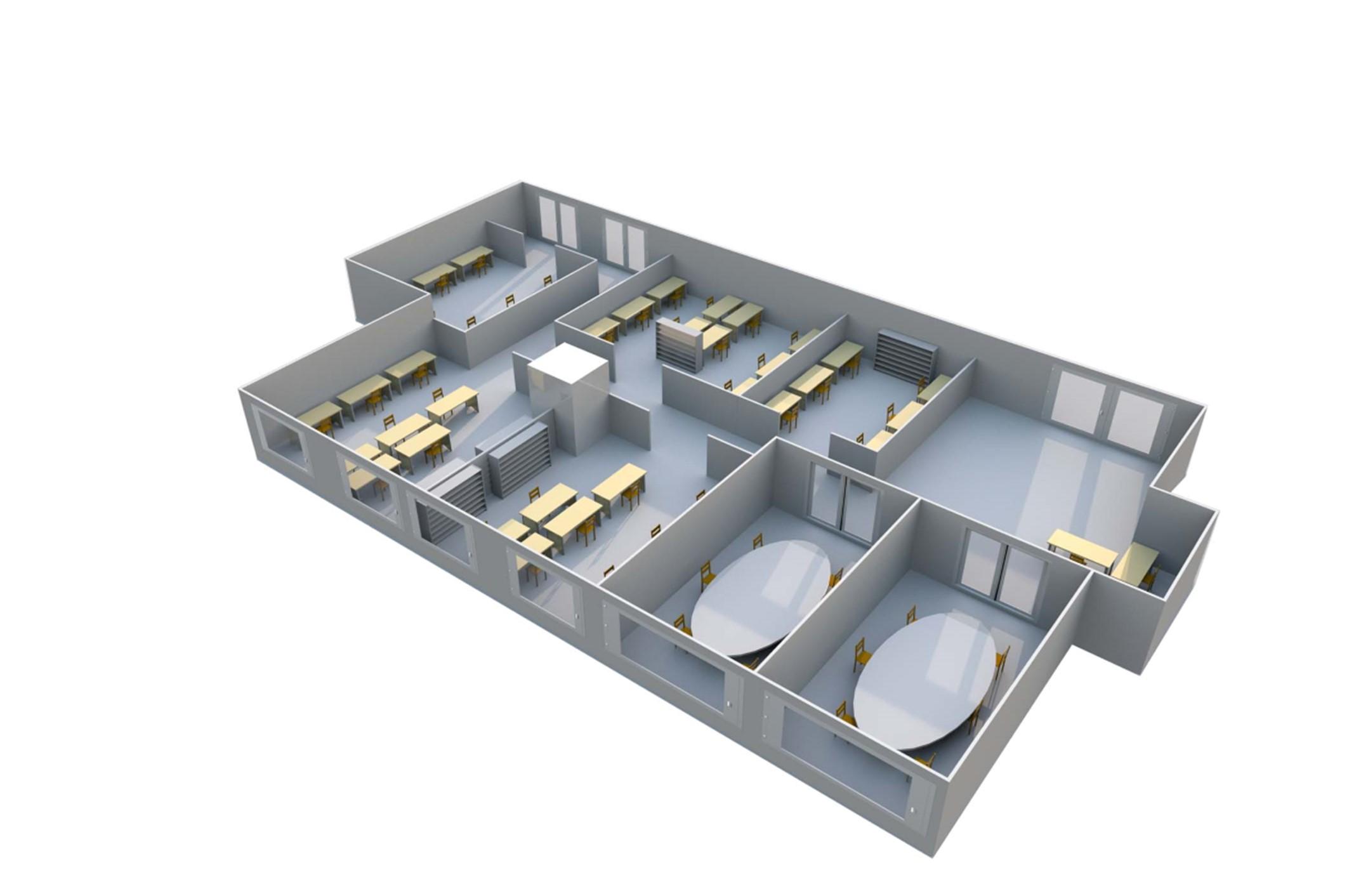 MVHR floorplan